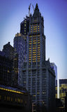 La construction de Woolworth à New York City Image stock