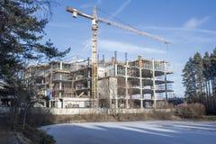 La construction du centre commercial Images stock