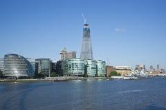 La construction la plus grande à Londres Image stock