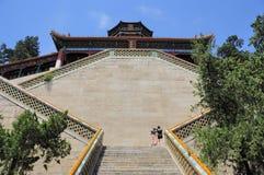 La construction la plus haute en palais d'été Images libres de droits