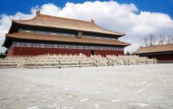 La construction royale de la Chine Images libres de droits