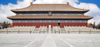 La construction royale de la Chine Photo stock