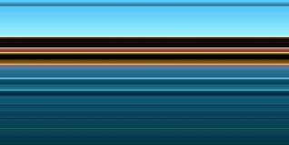 La contrapposizione dorata blu morbida astratta allinea il fondo astratto Immagine Stock