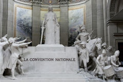 La Convention Nationale statue in Pantheon, Paris Royalty Free Stock Image