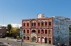 La cooperativa Freehouse, Victoria, BC, il Canada Fotografia Stock Libera da Diritti