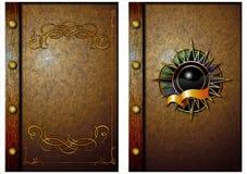 La copertura di vecchio libro. 01 Illustrazione Vettoriale