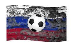 La coppa del Mondo e un'economia russa difficile immagini stock