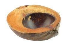 La coquille et les coquilles de noix de coco ont marqueté des cuvettes de Bali Indonésie Photo libre de droits