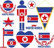La Corée du Nord Photo stock