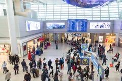 La Corée du Sud, aéroport international Incheon à l'intérieur Photographie stock libre de droits
