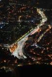La Corée du Sud la nuit Photographie stock libre de droits