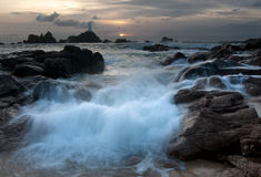La Corbiere at dusk Royalty Free Stock Images