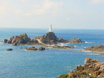 La Corbiere Lighthouse Royalty Free Stock Images