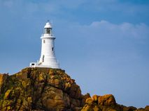 La Corbiere Lighthouse, Jersey, Channel Islands, UK Stock Photo