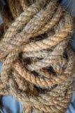 La corde de chanvre Image libre de droits