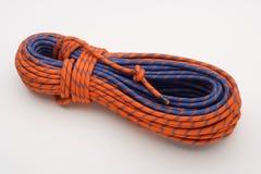 La corde de grimpeur de montagne Photos libres de droits