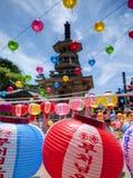 La Corea che celebra il compleanno di Buddha fotografia stock libera da diritti