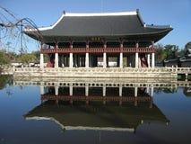 La Corea Seoul: Palazzo dei re illustrazione di stock