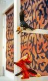 La corneille et le renard au musée d'arts populaires photographie stock
