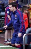 La Corogne Liga - España de Lionel Messi FC Barcelone v Imagen de archivo libre de regalías