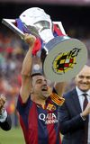 La Corogne Liga - España de Xavi Hernandez FC Barcelone v Imagen de archivo