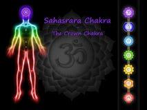 La corona Chakra Fotografie Stock