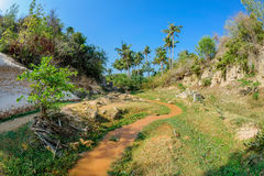 La corrente leggiadramente in Mui Ne Vietnam 2 Immagine Stock Libera da Diritti