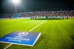 La correspondance entre Rostov et PSV photos libres de droits