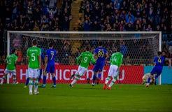 La correspondance entre Rostov et PSV photos stock
