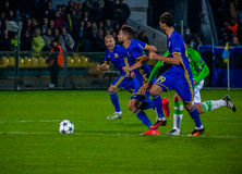 La correspondance entre Rostov et PSV photo stock