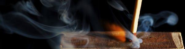 La corrispondenza di legno immagine stock libera da diritti