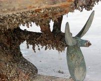 La corrosion du propulseur photo libre de droits