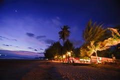 La corsa della spiaggia fotografia stock libera da diritti