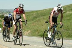 La corsa di strada del circuito diMorgul-Bismarck Fotografie Stock