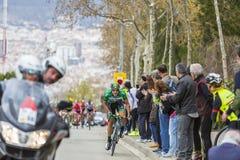La corsa - Volta Ciclista un Catalunya 2016 Fotografia Stock