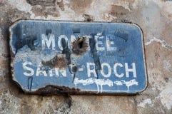 La Corse, Bonifacio, horizon, citadelle, vieille ville, détroit de Bonifacio, méditerranéen, chaux, falaise, roches, Bouches de B Images libres de droits