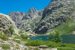 La Corse Lac de Melo Photographie stock