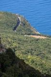 La Corsica, Corse, Cap Corse, Corse superiore, Francia, Europa, isola Immagini Stock