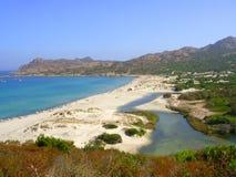 La Corsica - immagine di riserva Fotografie Stock