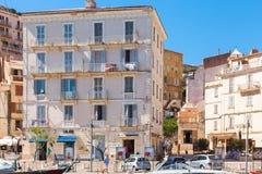 La Corsica nel giorno di estate soleggiato Bonifacio Fotografia Stock Libera da Diritti
