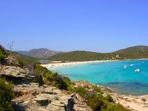 La Corsica scenica Fotografie Stock Libere da Diritti