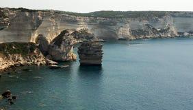 La Corsica, vicino a Bonifaccio Fotografia Stock Libera da Diritti
