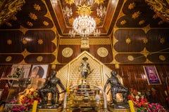 La corte de rey Taksin Foto de archivo
