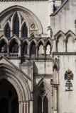 La Corte di Giustizia reale Fotografie Stock Libere da Diritti