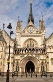 La Corte di Giustizia reale, Londra Immagine Stock Libera da Diritti