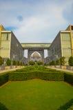 La corte federal del mahkamah de Malasia o de Istana, Putrajaya Malasia Foto de archivo