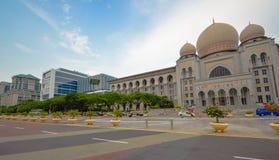 La corte federale del mahkamah di Istana o della Malesia, Putrajaya Malesia Fotografia Stock Libera da Diritti