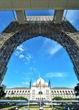La corte federale del mahkamah di Istana o della Malesia, Putrajaya Malesia Fotografie Stock