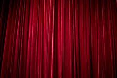 La cortina de la etapa Foto de archivo libre de regalías