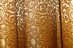 La cortina viste la fotografía del fondo de la opinión del primer Foto de archivo libre de regalías